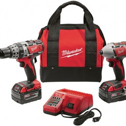 Kit Rotomartillo+Llave de impacto Inalámbrico Milwaukee 2697-22