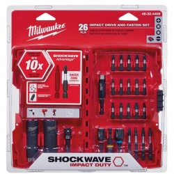 SHOCKWAVE brocas Impacto duty Drive y Juego de brocas 48-32-4408 milwaukee